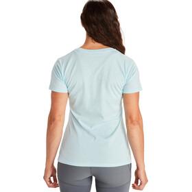 Marmot Ascender Camiseta Manga Corta Mujer, corydalis blue heather
